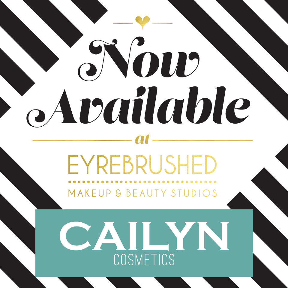 Cailyn Makeup Now Available in Eyrebrushed