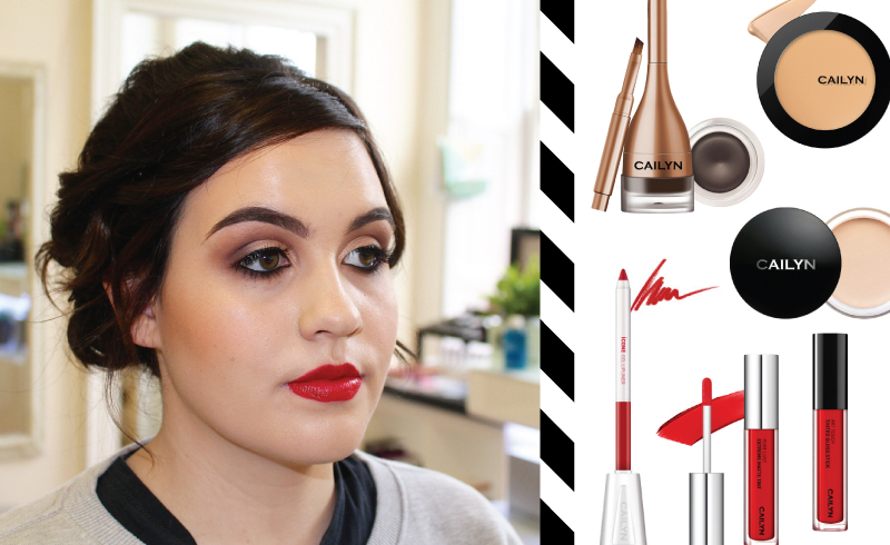 Get the Look - Cailyn Cosmetics - Red Lip
