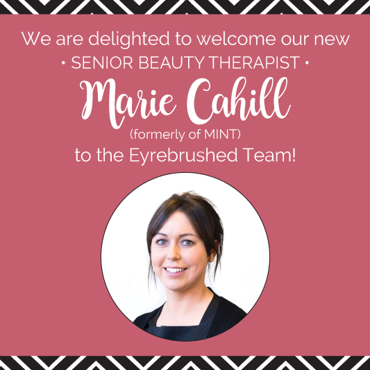 New Senior Beauty Therapist Marie Cahill