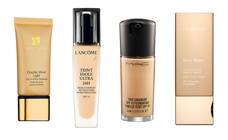Matte Foundations for Oily Skin @ Eyrebrushed Makeup Studios