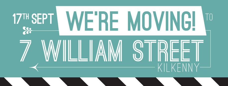 Eyrebrushed is Moving to 7 William Street, Kilkenny