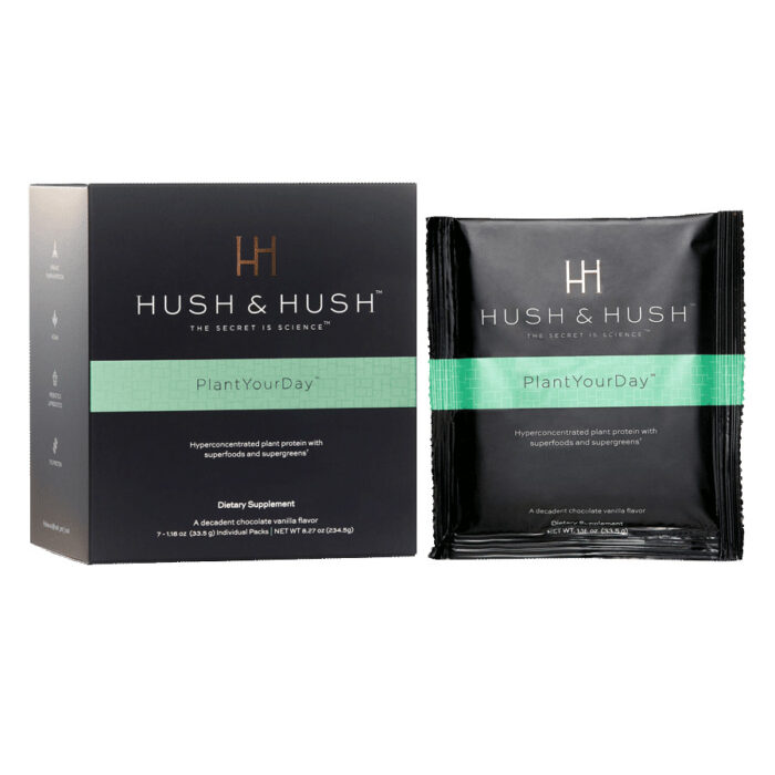 Hush & Hush Plant Your Day On the Go