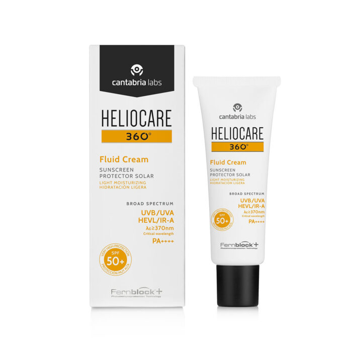 Heliocare 360 Fluid Cream Sunscreen SPF50+