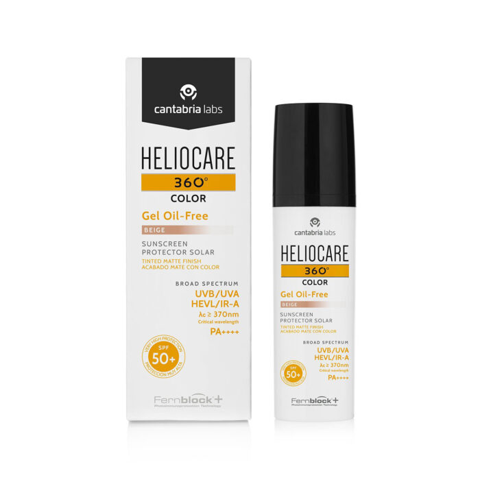 Heliocare 360 Colour Oil Free Gel Sunscreen - Beige
