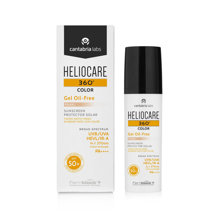 Heliocare 360 Colour Oil Free Gel Sunscreen - Pearl