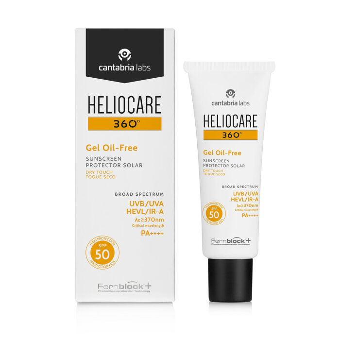 Heliocare 360 Oil-Free Dry Touch Gel Sunscreen SPF50