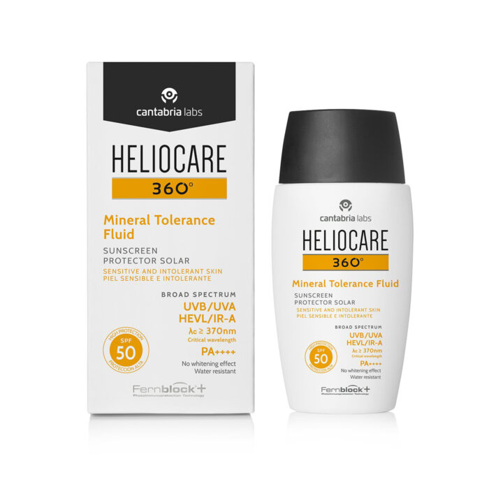 Heliocare 360 Mineral Tolerance Fluid Sunscreen SPF50