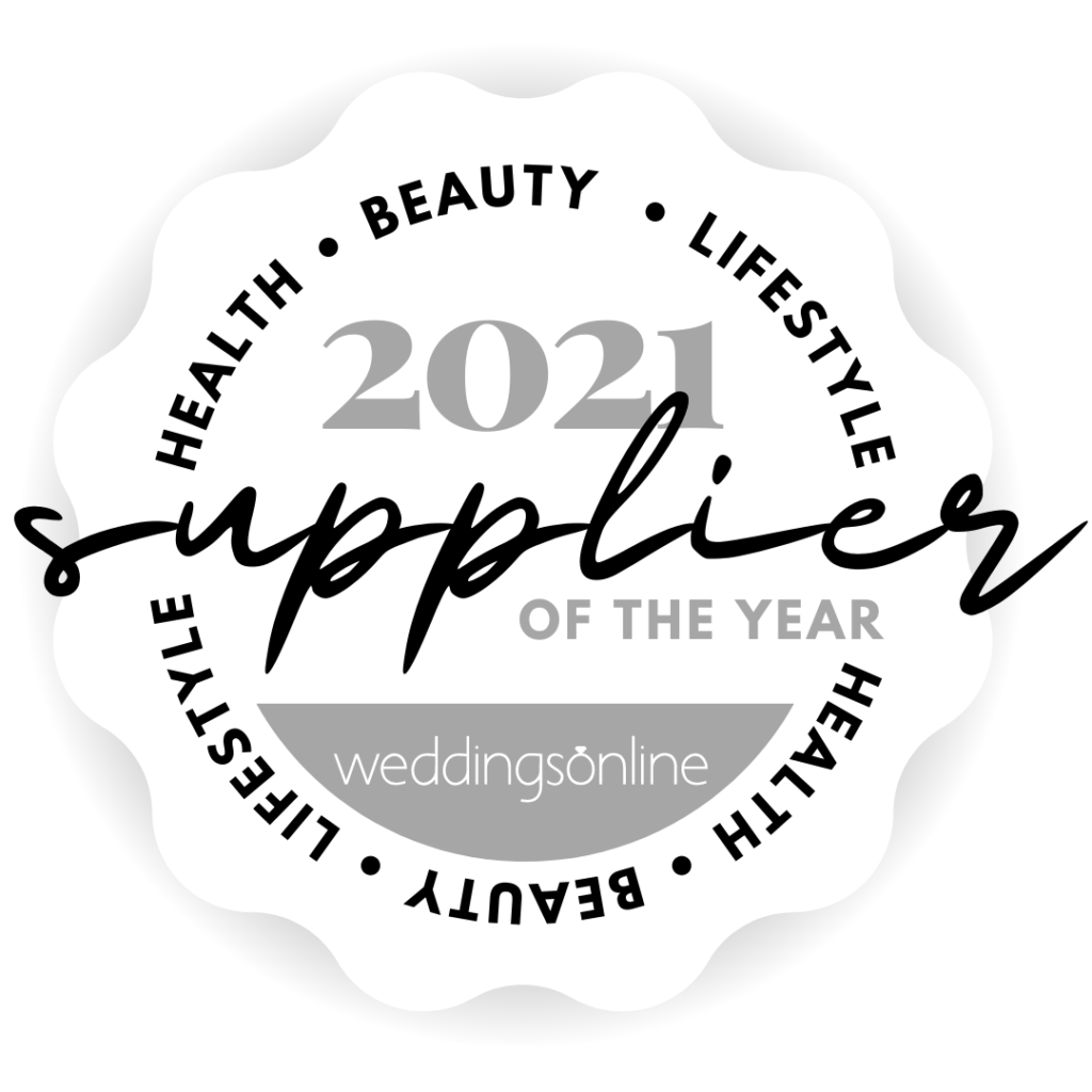 WeddingsOnline Health, Beauty & Lifestyle Supplier of the Year 2021